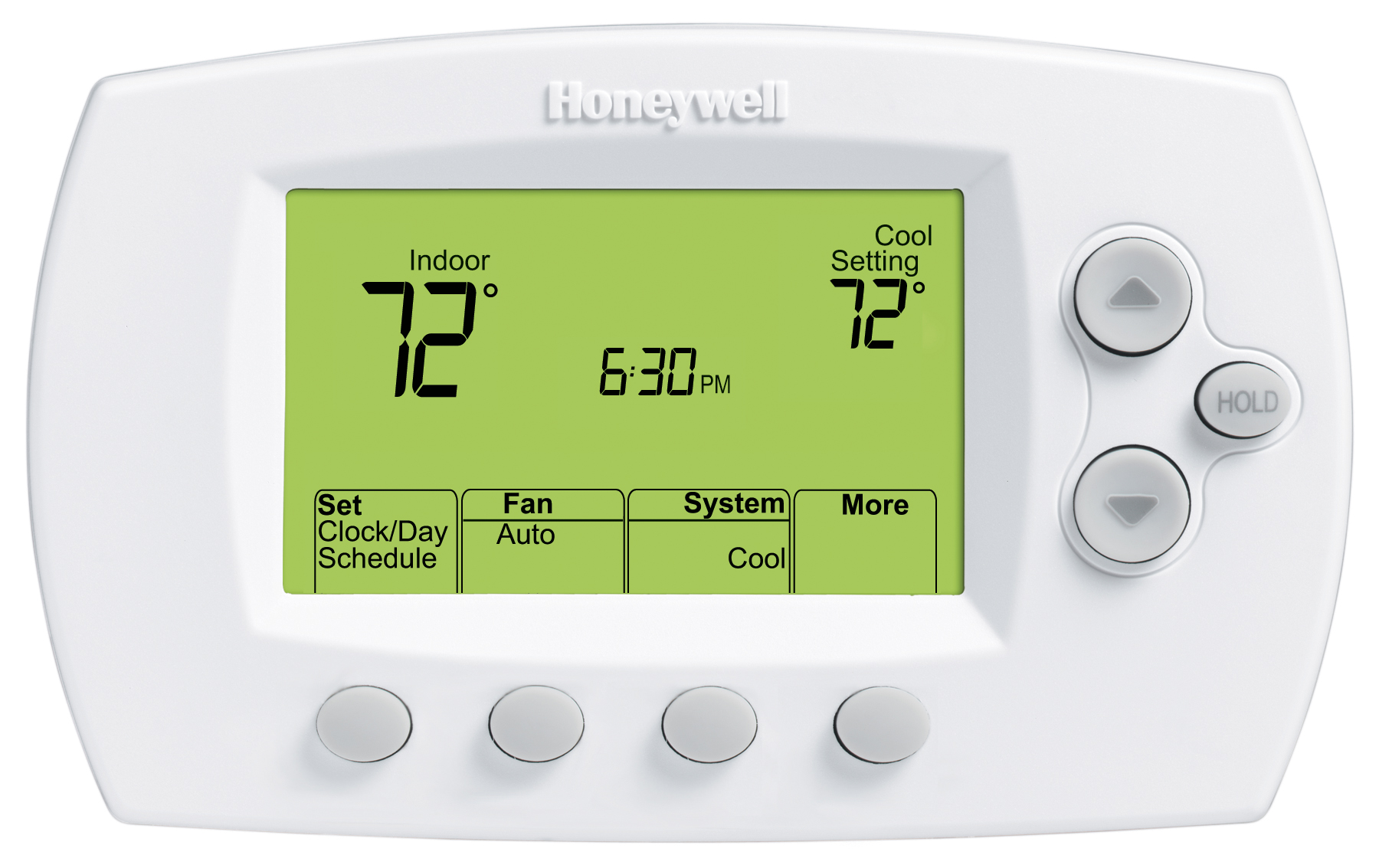 Fully automatic Honeywell heating and air conditioning thermostats available at HRDair